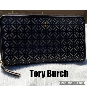 Tory Burch Fret -T Wallet